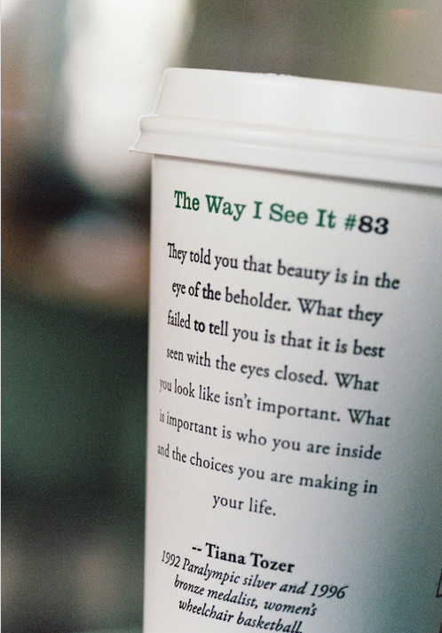 Starbucks quote